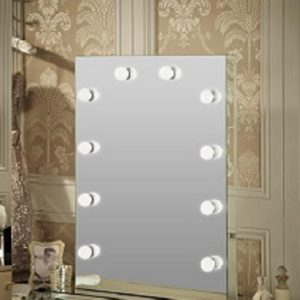 MUNKIE ™ Light Up Hollywood Mirrors (Frameless)